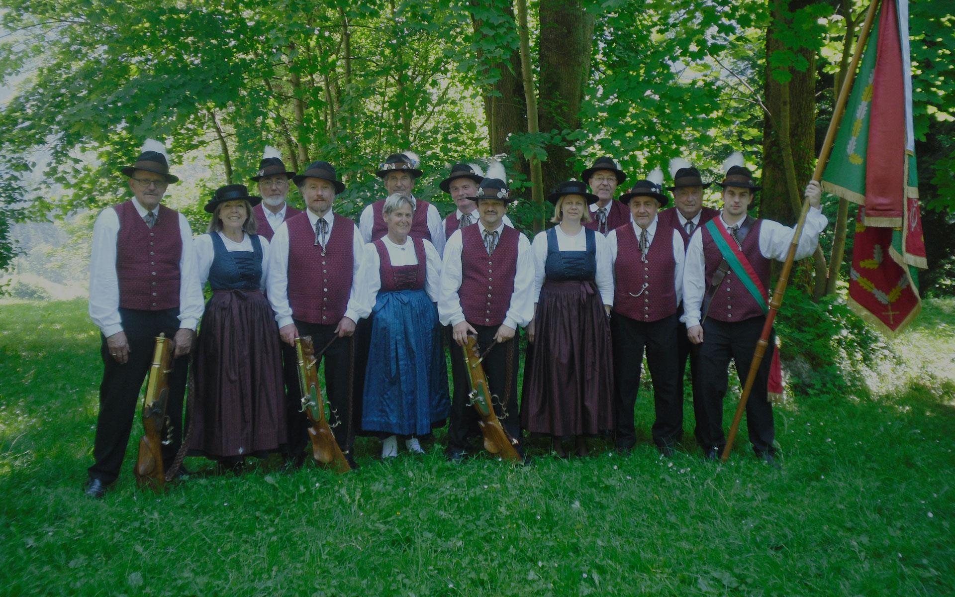 Willkommen bei der<br>Schützengilde Götzis 1834